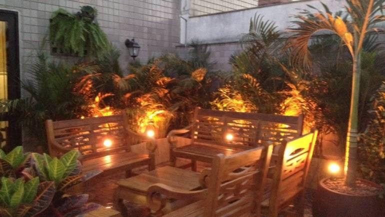 Jardim cobertura