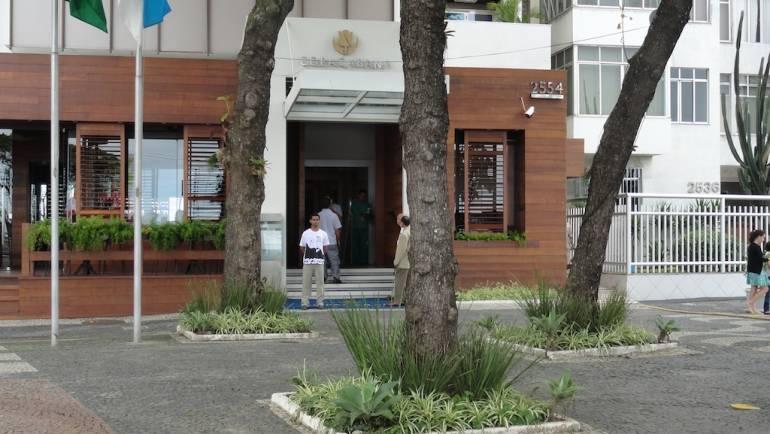 Entrada hotel rede Tulip