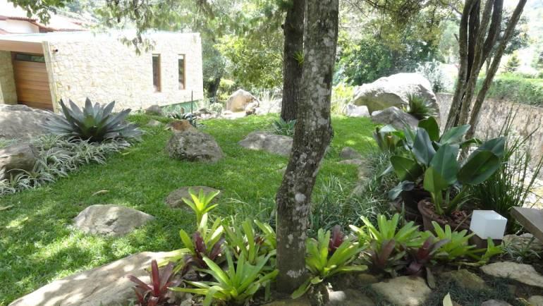Paisagismo casa Itaipava